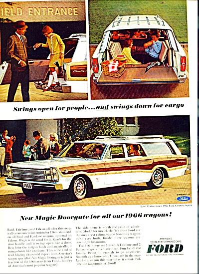 Ford Station wagon for 1966 (Image1)