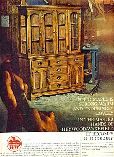 Heywood Wakefield furniture ad 1965 (Image1)