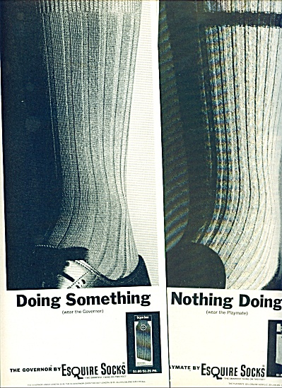 Esquire socks ads 1963 (Image1)