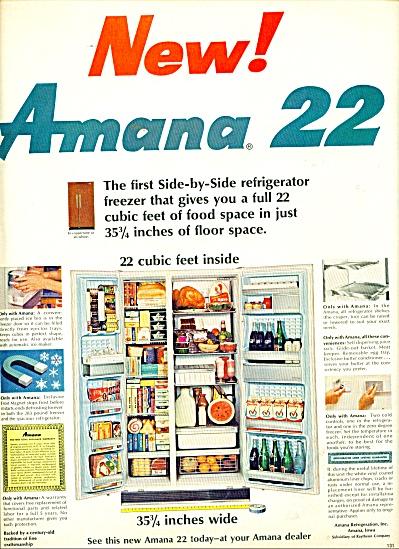 Amana 221 refrigerator ad 1965 (Image1)