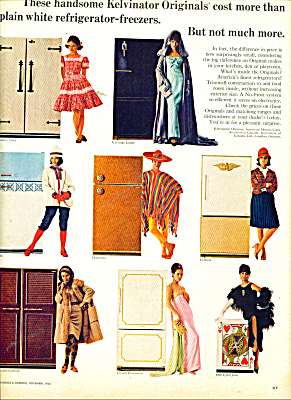 Kelvinator refrigerator-freezers ad 1965 (Image1)