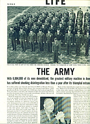 1946 -  THE ARMY (Image1)