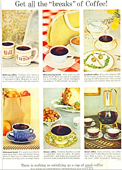 Good Coffee is so satisfying ad 1956 (Image1)