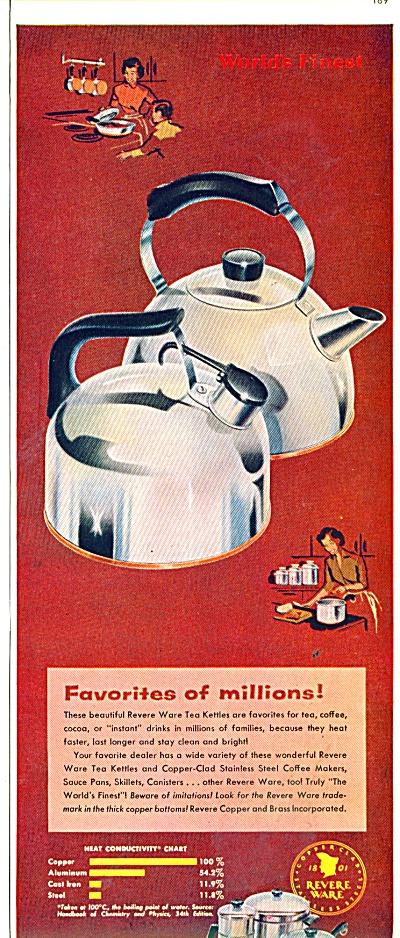 Revere Ware ad 1956 (Image1)