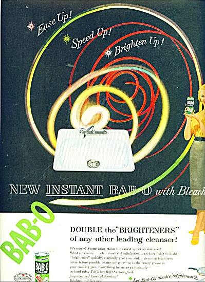 Bab-O cleanser ad 1956 (Image1)