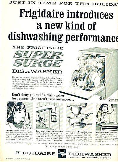 Frigidaire dishwasher ad 1965 (Image1)