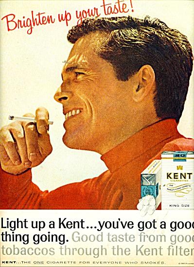 Kent King size cigarettes ad 1965 (Image1)