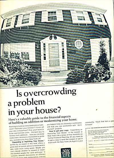 New York Life Insurance Company ad 1965 (Image1)