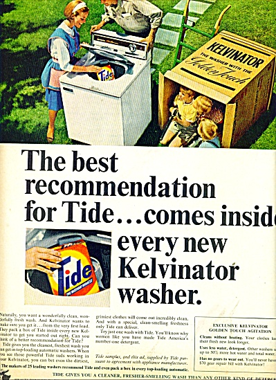 Tide washing machine soap ad 1965 (Image1)