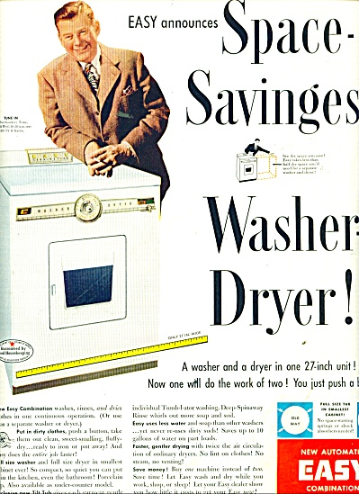 Easy washer dryer - ARTHUR GODFREY AD (Image1)