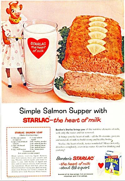Borden's Starlac  ad 1956 (Image1)
