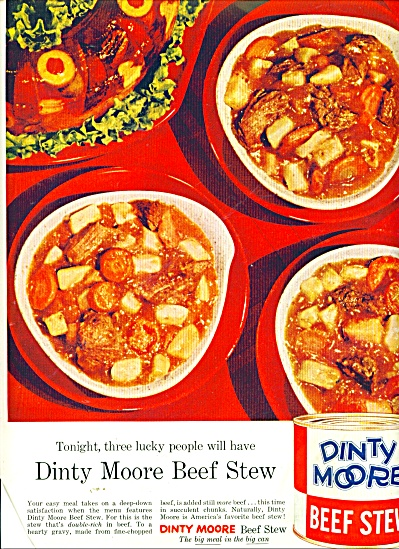 Dinty Moore Beef Stew ad 1956 (Image1)
