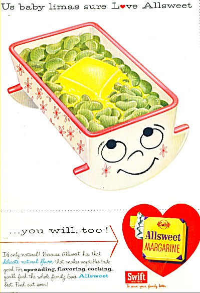 All Sweet Margarine from Swift ad 1956 (Image1)