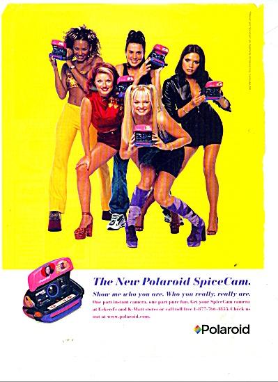 Polaroid spice cam ad (Image1)