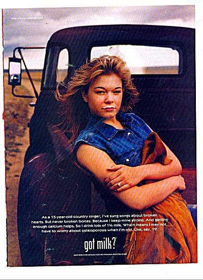 Got Milk ad - LEANN RIMES 1998 (Image1)