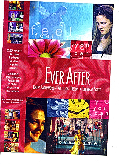 EVER AFTER - DREW  BARRYMORE-ANJELICA HUSTON (Image1)