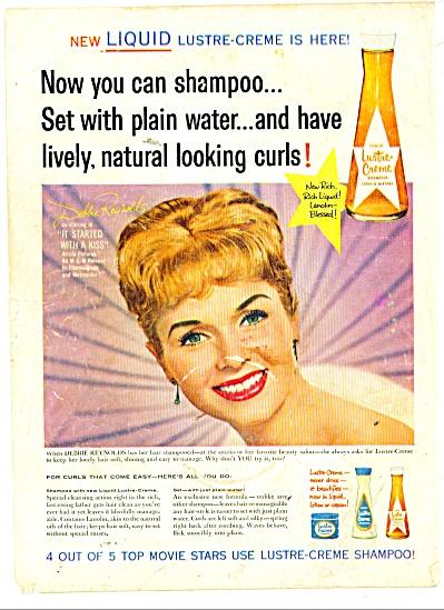 Lustre Creme Shampoo DEBBIE REYNOLDS (Image1)
