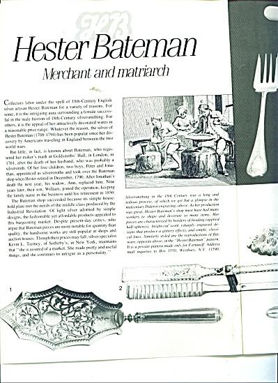 Hester Bateman - Merchant and matriarch silve (Image1)
