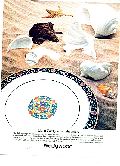 Wedgwood china ad  1983 (Image1)