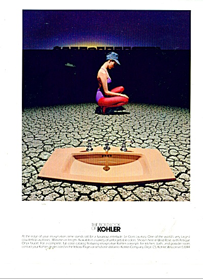 The bold look of KOHLER  ad 1983 (Image1)