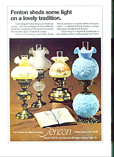 Fenton art glass company ad 1980 (Image1)