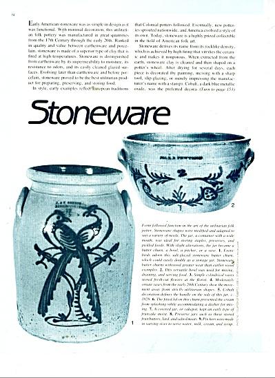 Stoneware - history of stoneware - 1983 (Image1)