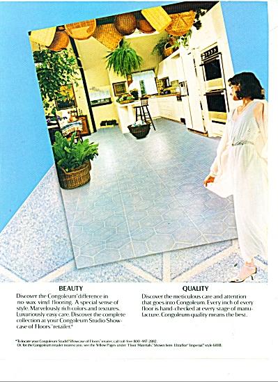Congoleum vinyl flooring ad 1983 (Image1)