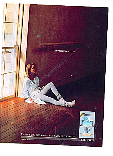 1986 Mennen Speed Stick AD TREATS YOU WOMAN (Image1)