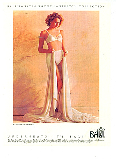 1989 Bali stretch collection AD BRA - PANTY (Image1)