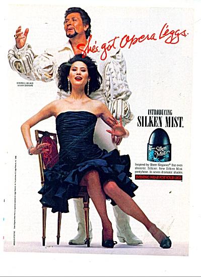 Sheer elegance - Silken Mist -  ad 1989 (Image1)