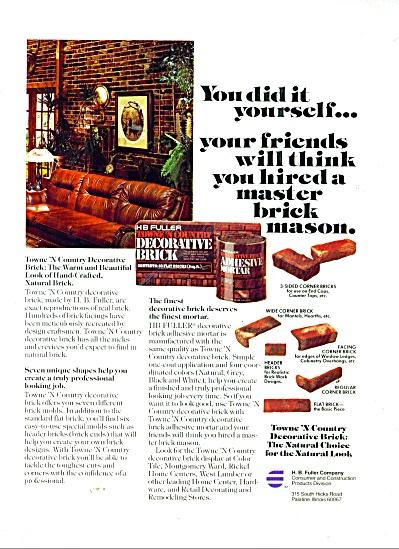 H. B. Fuller decorative brick ad 1988 (Image1)