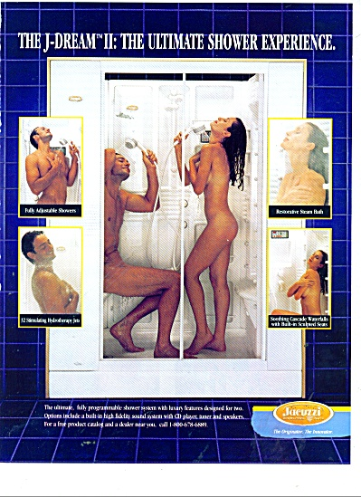 Jacuzzi shower experience ad 1989 (Image1)