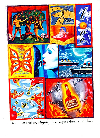 Grand Marnier liquor ad 1989 (Image1)