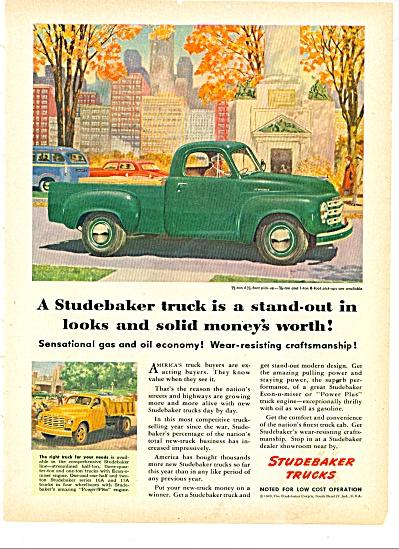 Studebaker Trucks ad 1949 (Image1)