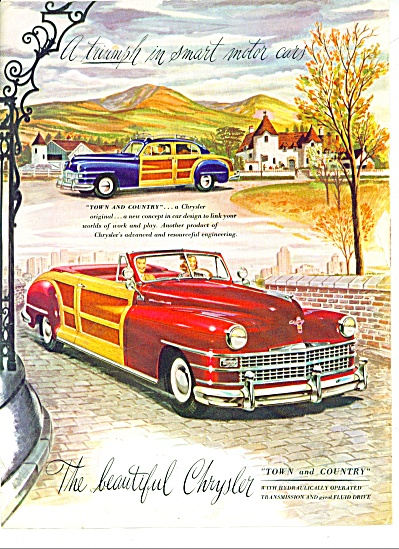 Chrysler Town and Country automobile 1946 ad (Image1)