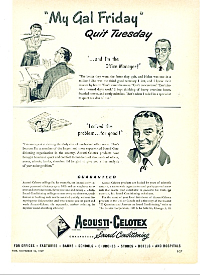 Acousti-Celotex products ad 1946 (Image1)
