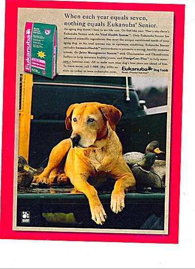 Eukanuba dog foods ad 1999 (Image1)