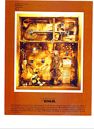 The Bold look of Kohler - Hans Neleman ad (Image1)