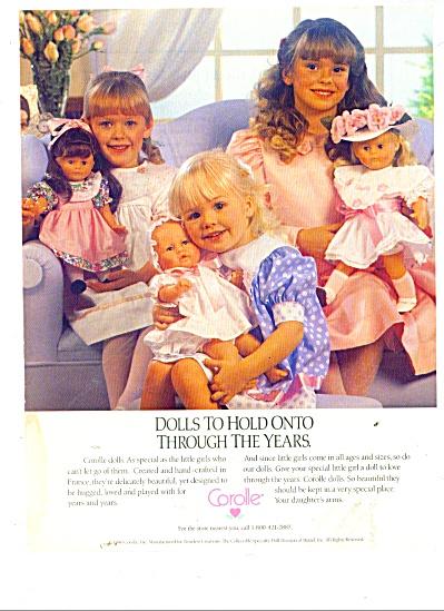 Corolle Dolls ads (Image1)