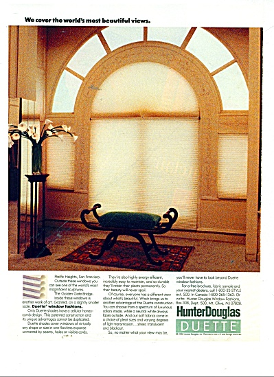 Hunter Douglas Duette window fashions 1990 (Image1)