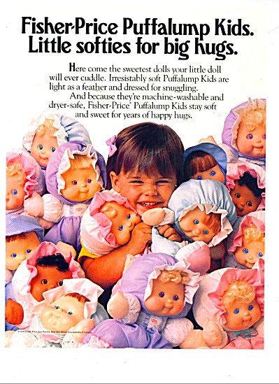 Fisher-Price puffalump kids ad 1991 (Image1)