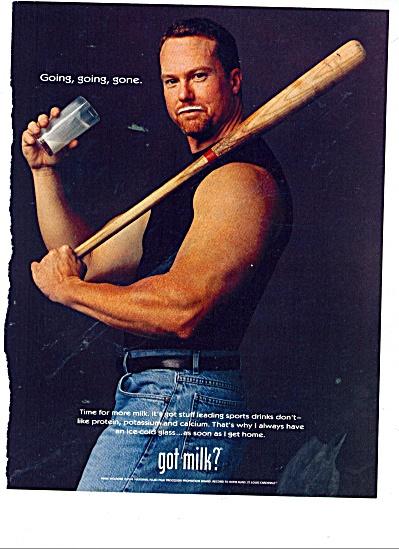 Got Milk ad - MARK MC GWIRE (Image1)
