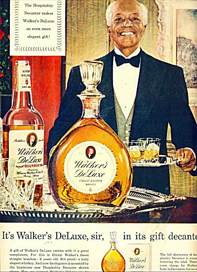 1953s  Black Butler Walker Deluxe Bourban AD (Image1)