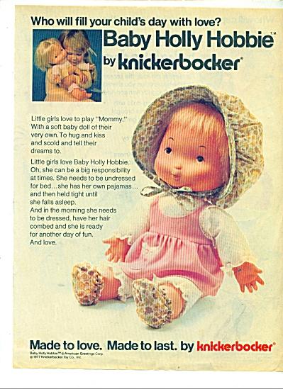 Knickerbocker  toys ad 1977 (Image1)