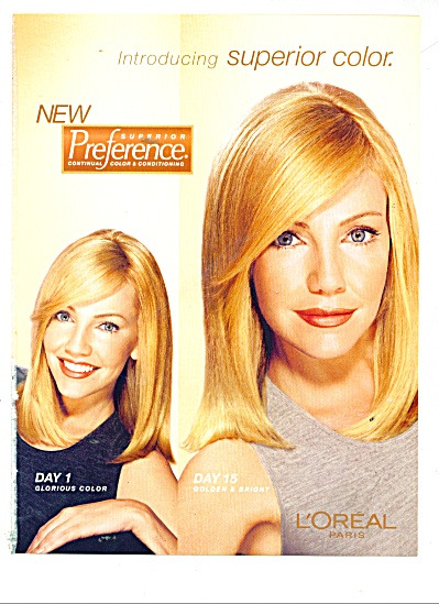 L'Oreal  Paris 4PG ADS HEATHER LOCKLEAR ++++ (Image1)