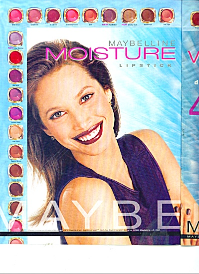 99 Maybelline CHRISTY TURLINGTON Lipstick AD (Image1)