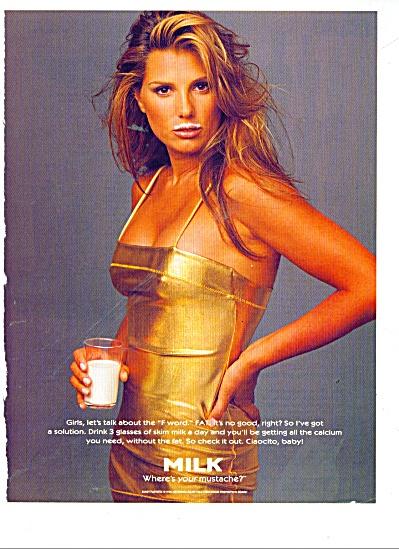 Got Milk ad - Daisy Fuentes 1996 (Image1)