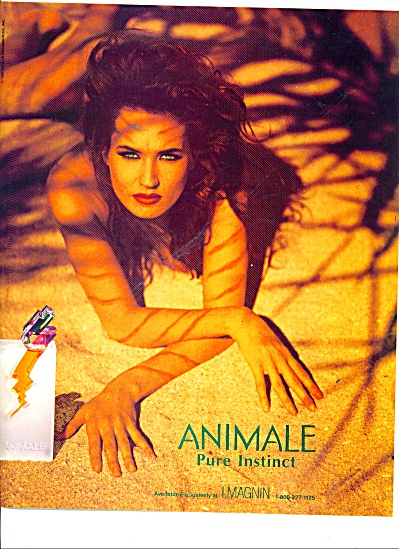 1991 ANIMALE pure instinct ad MONIKA SCHANRRE (Image1)