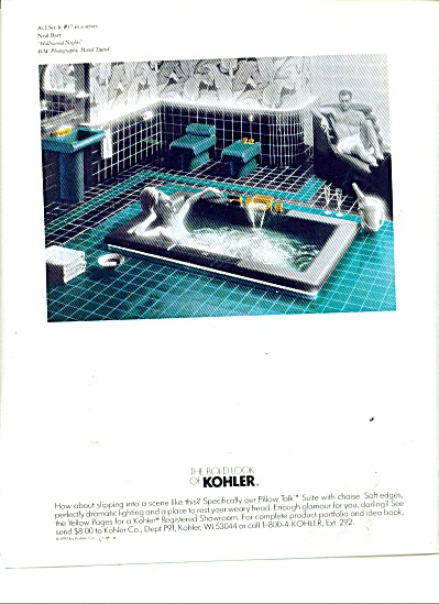 The bold look of Kohler ad 1992 LADY AND MAN (Image1)
