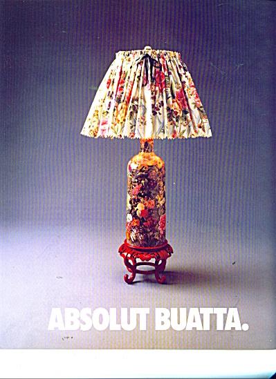 Absolut Buatta ad (Image1)